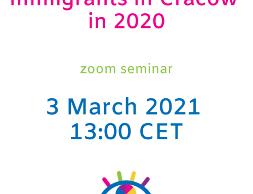 Immigrants in Cracow in 2020 – Zoom Seminar