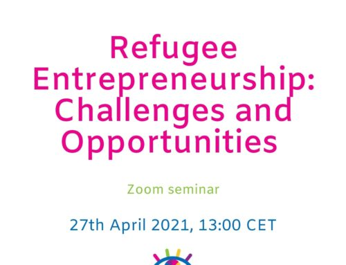 Refugee Entrepreneurship: Challenges and Opportunities – Zoom Seminar