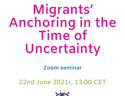 Migrants' Anchoring in the Time of Uncertainty – Zoom Seminar